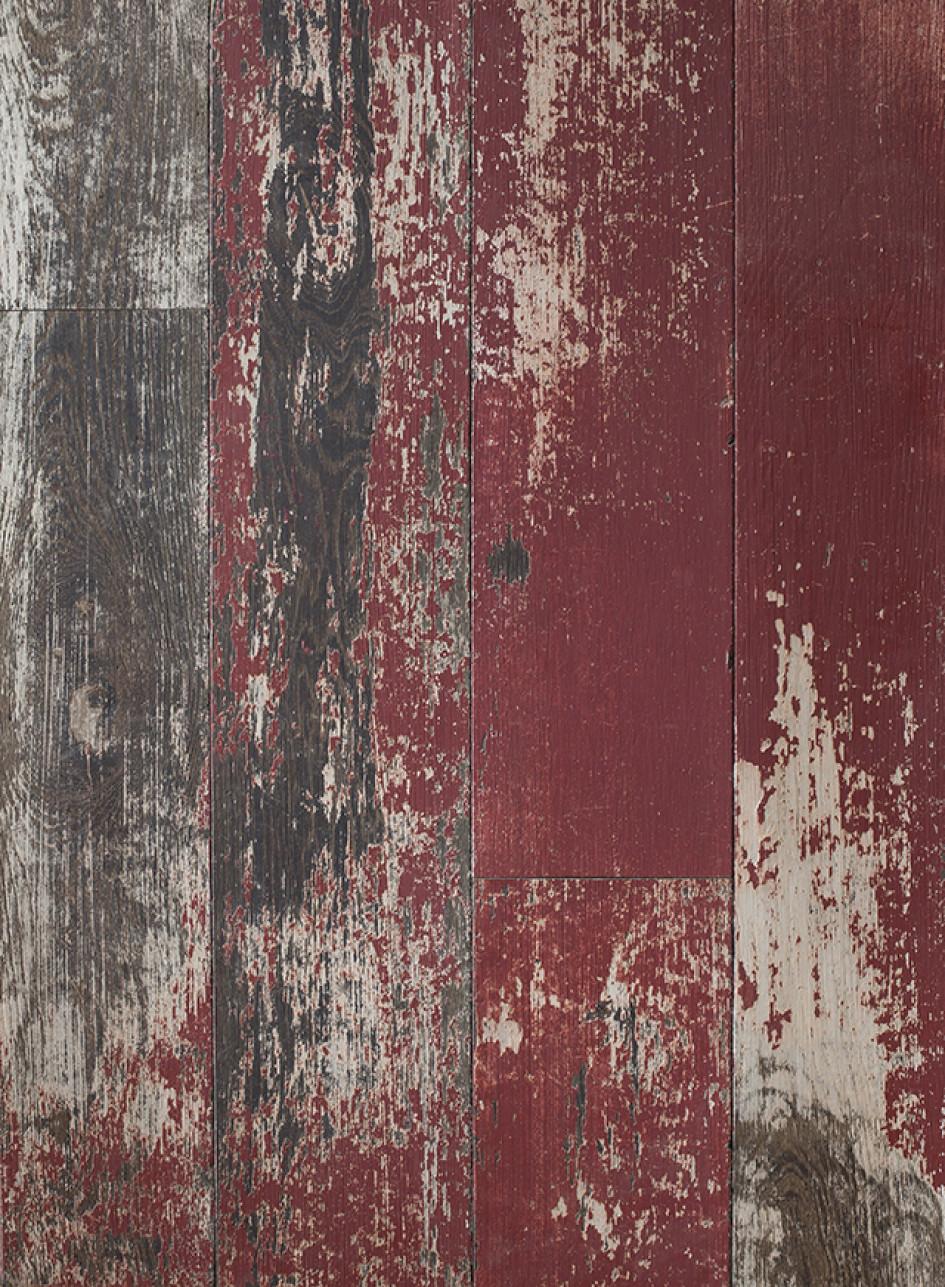 Weathered Painted Oak Floor & Cladding