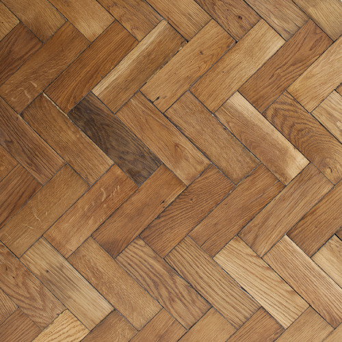 Reclaimed English Oak Herringbone