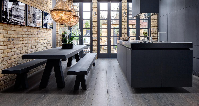 Interior Designer Residence: Driftwood 'Braided River'