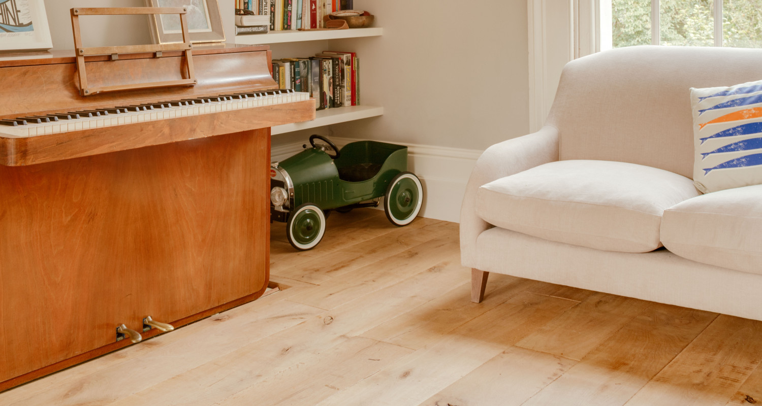 Castle 'Natural Undulating Surface' Wood Floor