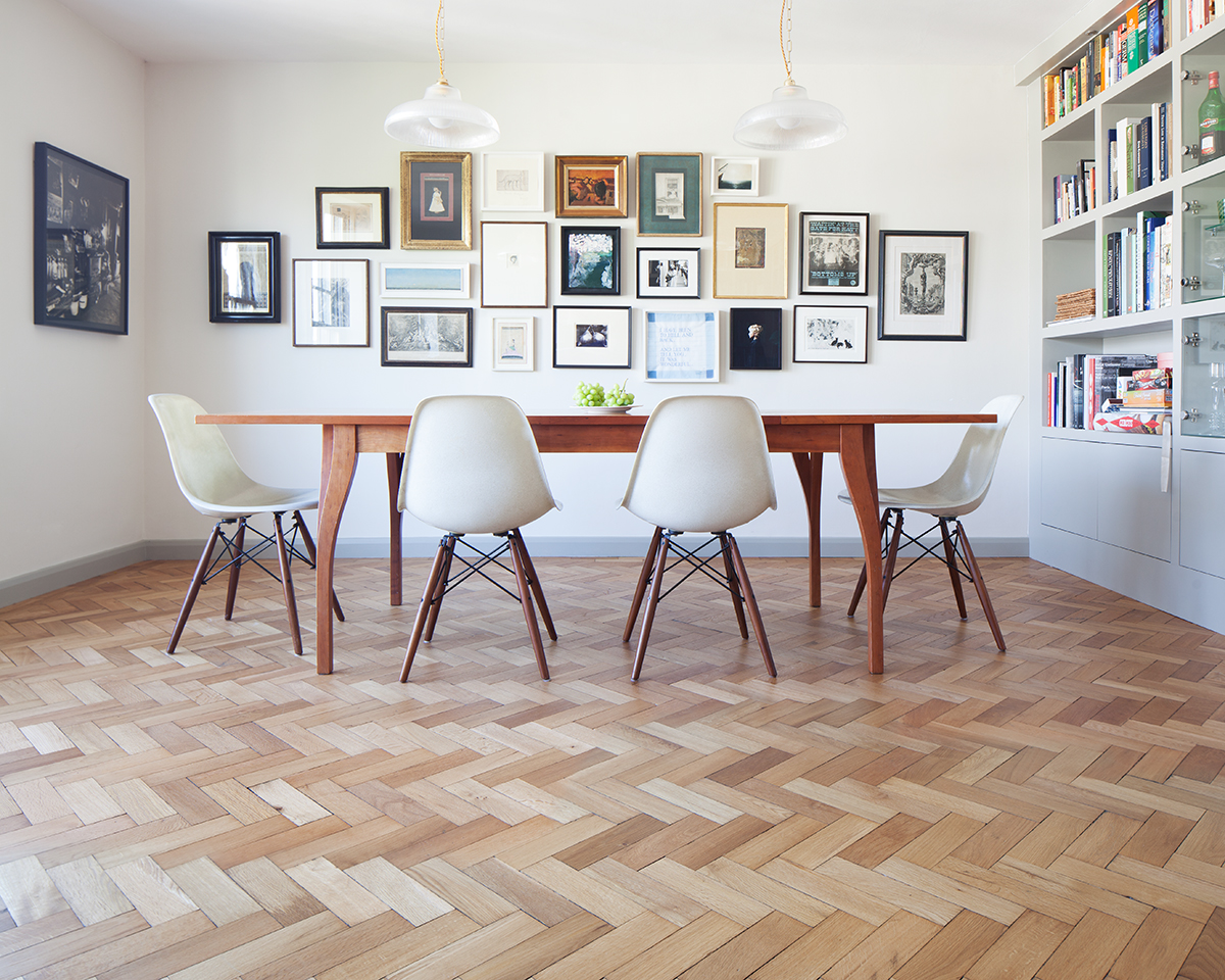Reclaimed English Oak Herringbone Reclaimed Wood Flooring