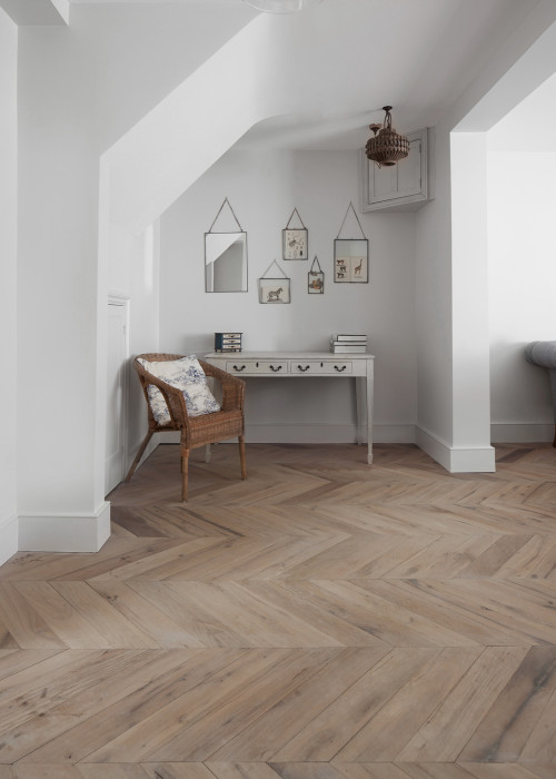 Resawn Chevron Oak