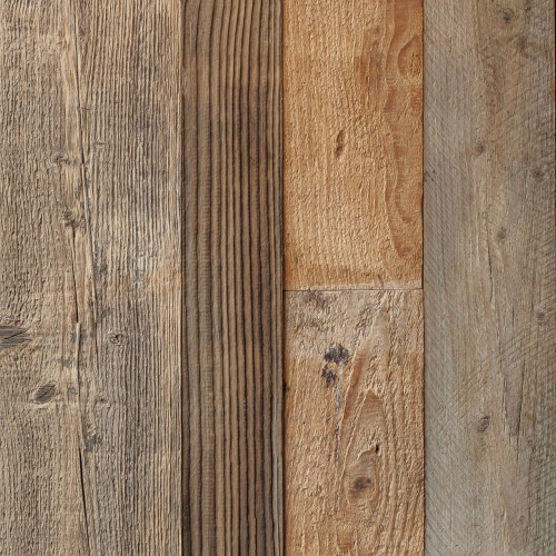 Reclaimed Pine Brown Wall Cladding