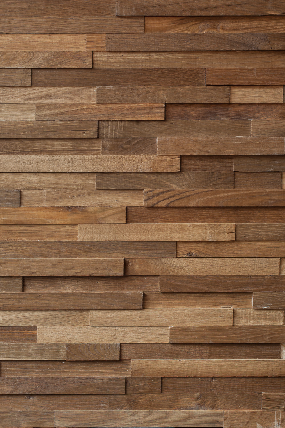 Wood Plank Wall Cladding : Reclaimed engineered oak strip cladding oiled the new