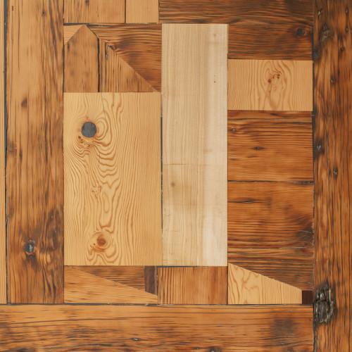 Bespoke Pine Parquet: 'Mondrian'