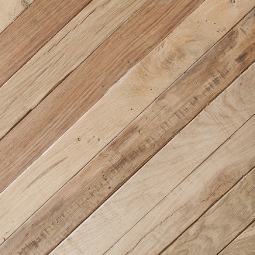 Mid Century French Oak:  Reclaimed Strip Cladding