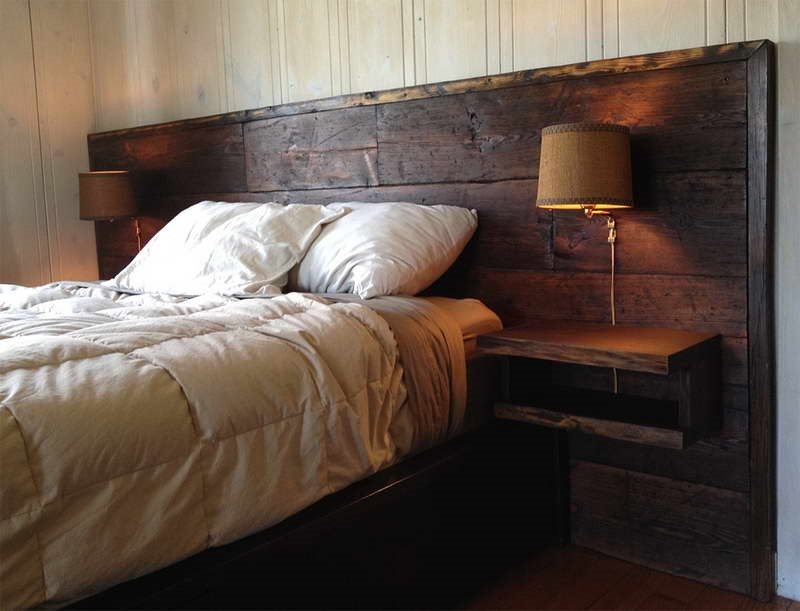 Reclaimed Wood Headboards for a Bespoke Rustic Charm - The ...