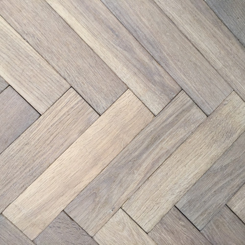 Traditional Grey Oak European Herringbone