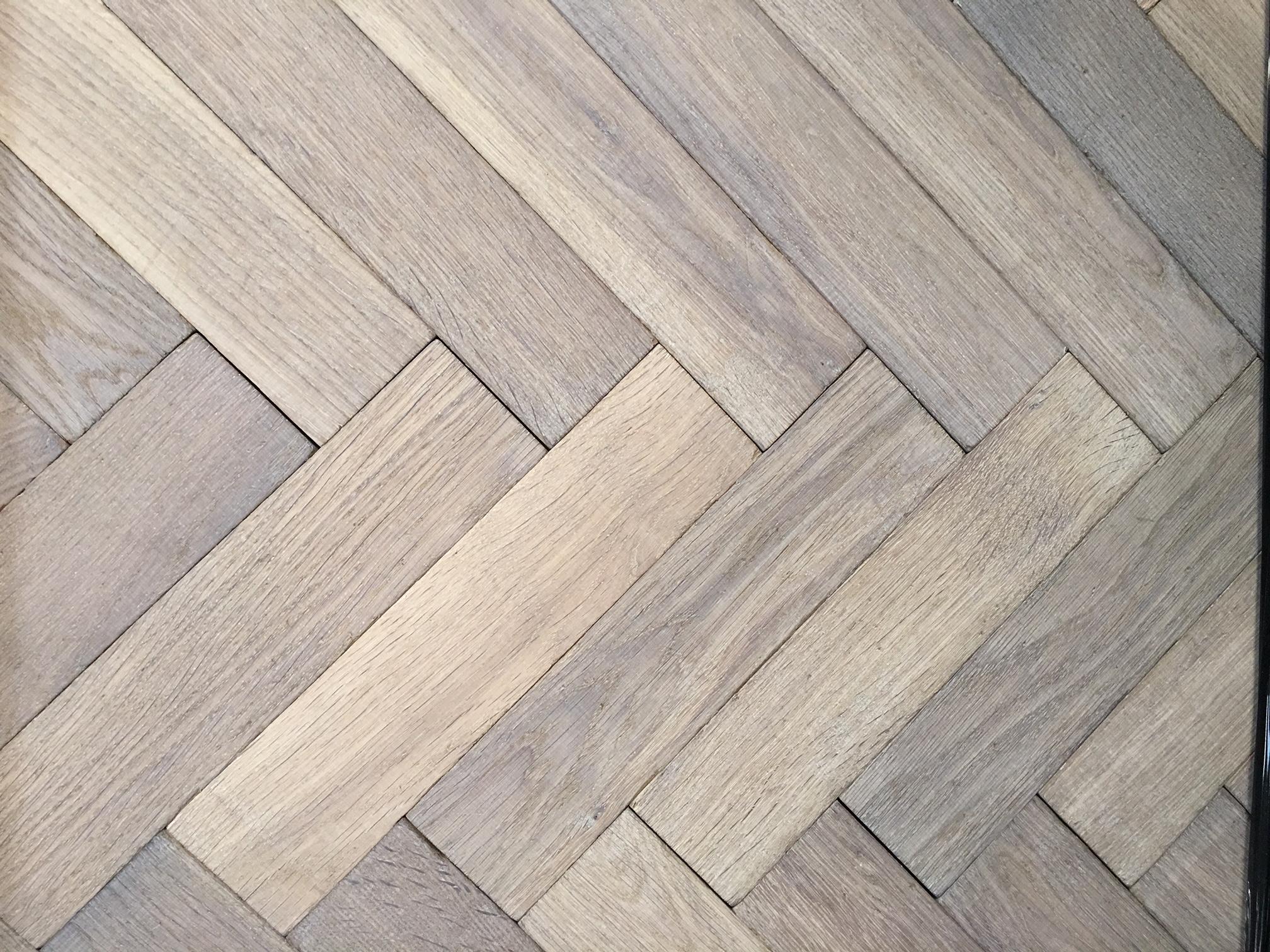 Grey Oak European Herringbone