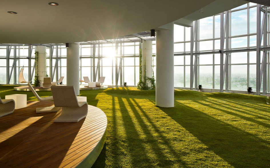 Incredible Indoor Gardens Make Your Employees Happier The New Amp Reclaimed Flooring Company