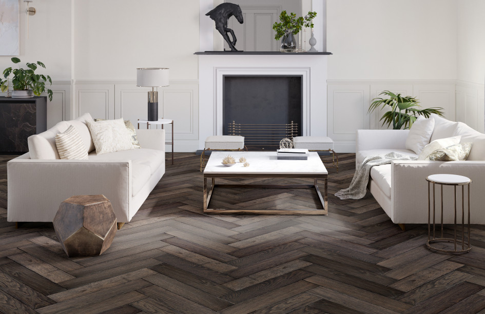 grey herringbone  oak london