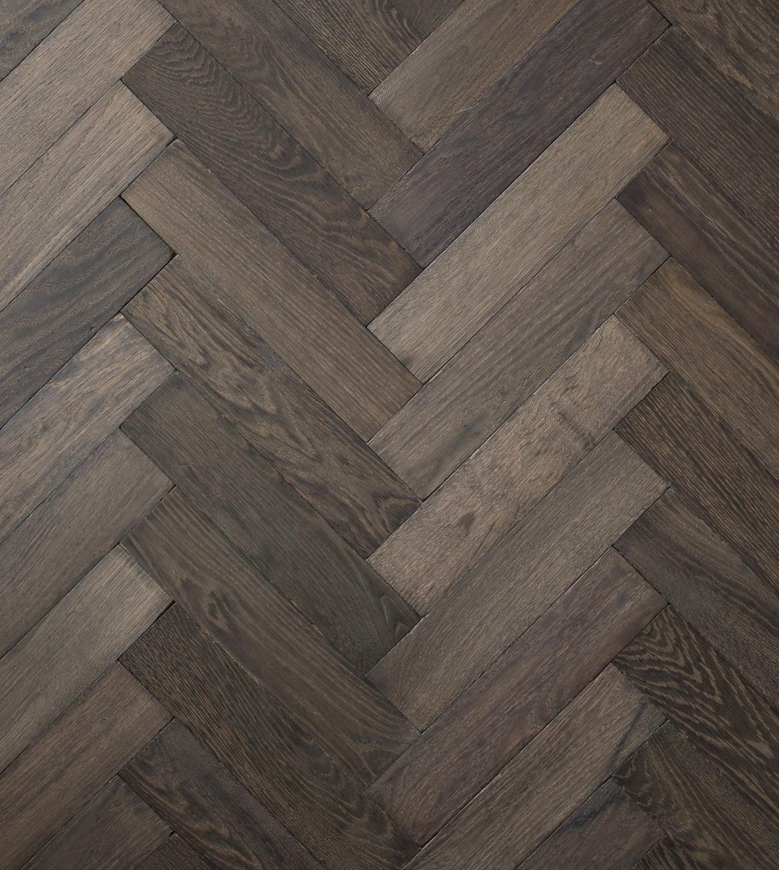 Rainshadow Aged Small Block Herringbone Panels Parquet Flooring Solid Wood Uk Based