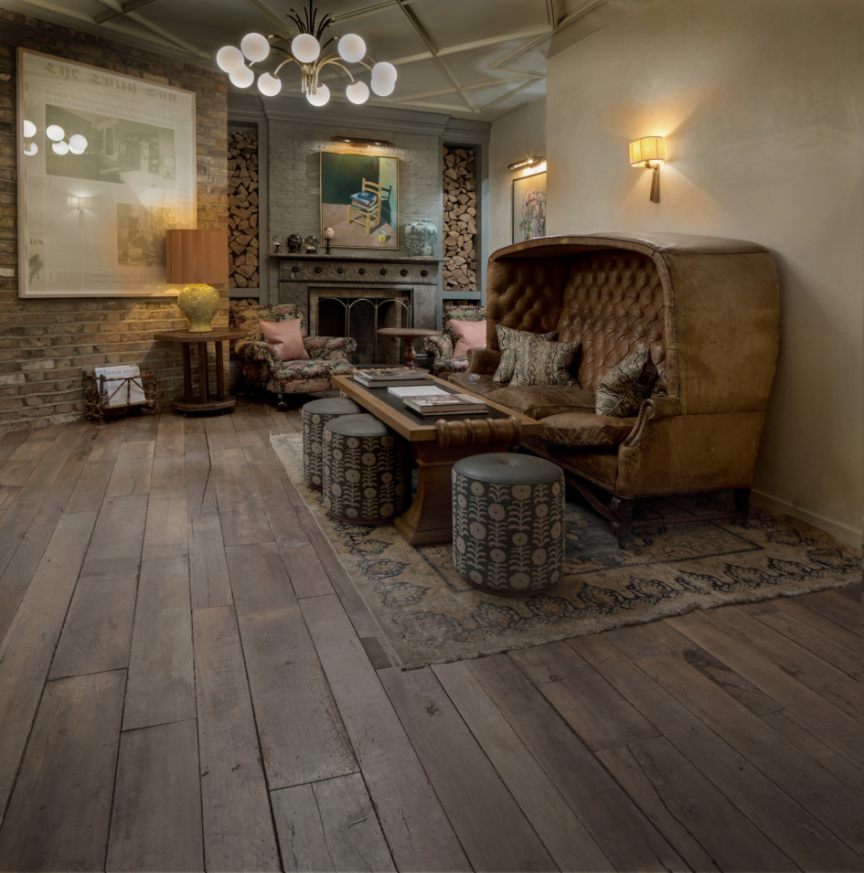 Soho House Reclaimed French Oak