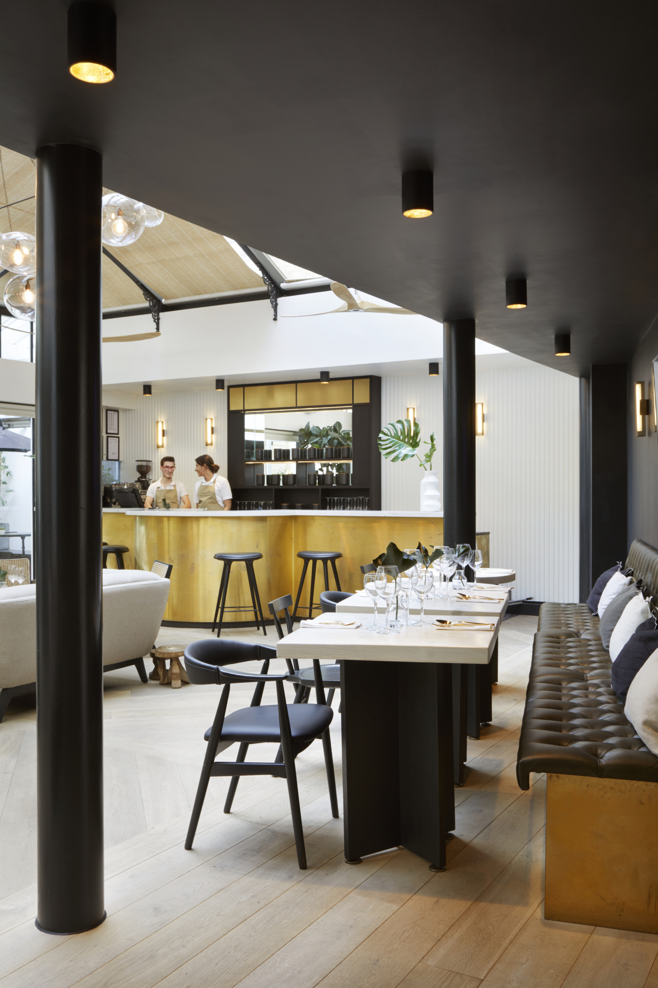 Boutique Hotel: The New & Reclaimed Flooring