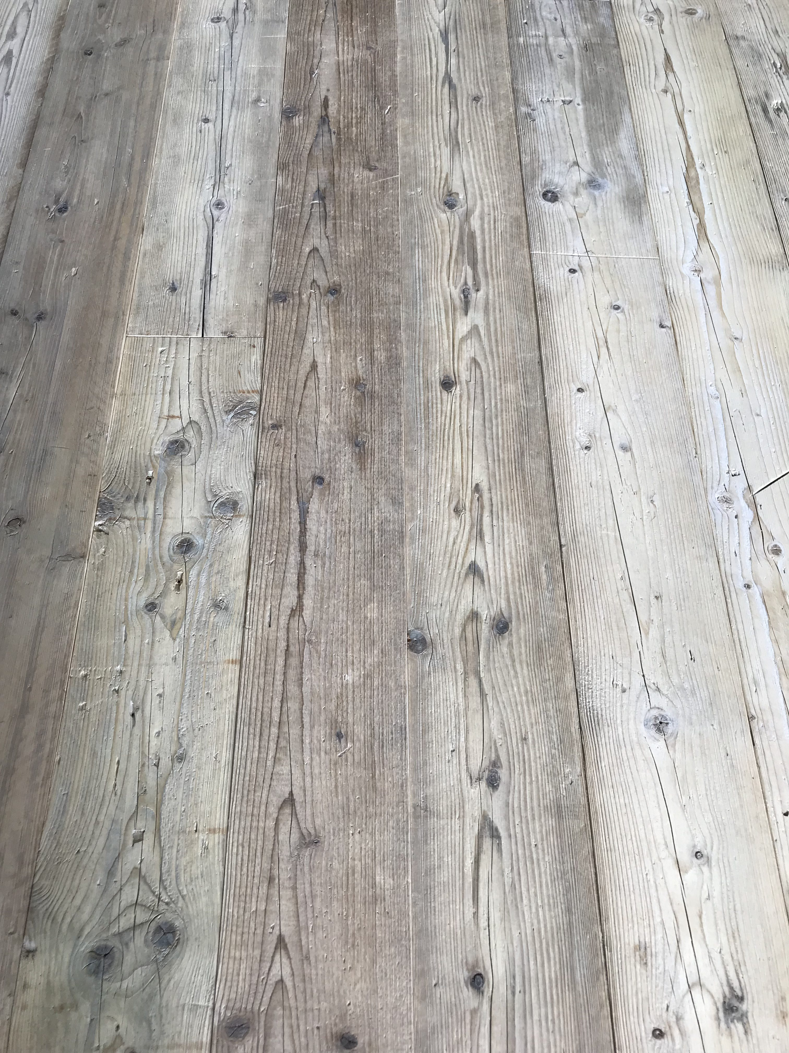About Genuine Reclaimed Victorian Pine Floorboards