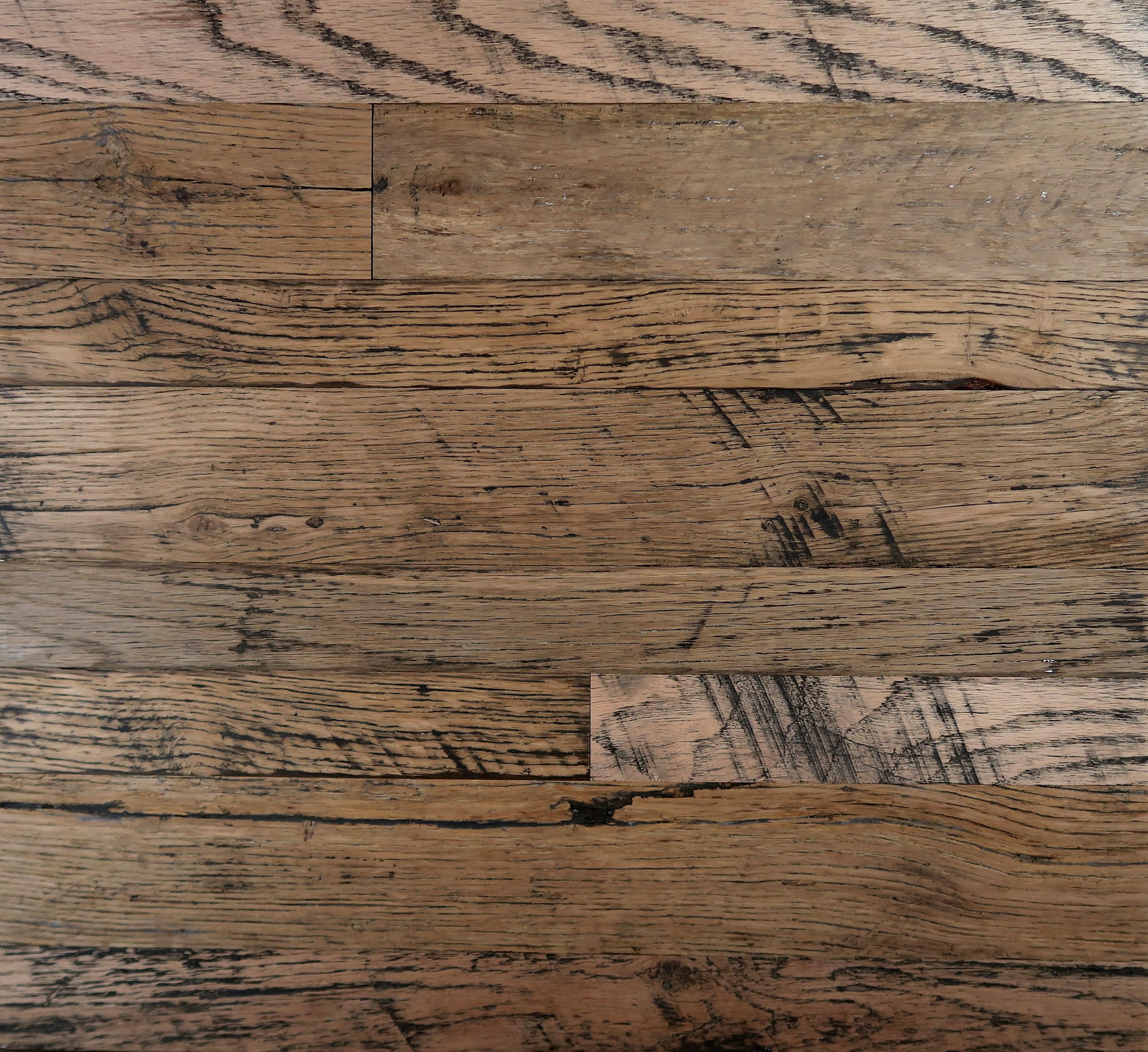 New England Oak Unfinished Reclaimed Wood Flooring