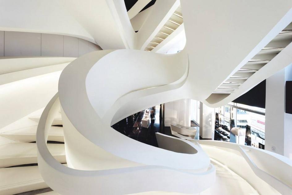 Armani 5th Avenue New York Store by Massimiliano & Doriana Fuksas Architects