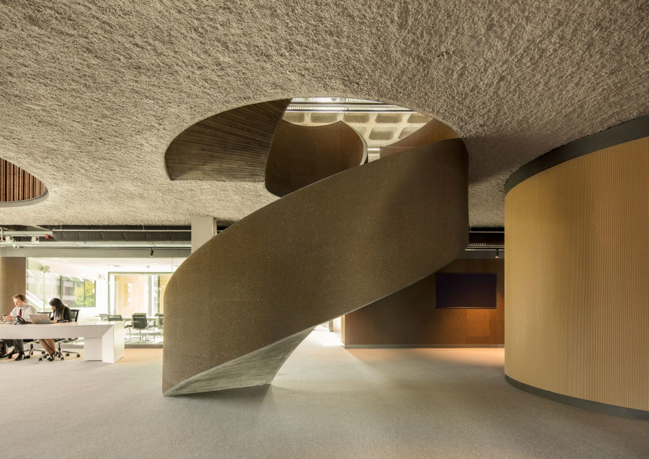 GS1 Staircase by Promontorio
