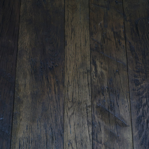 Reclaimed Engineered Estate Oak – Dark Brown
